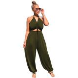 Ladies summer jumpsuit LD8820