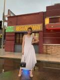 Women loose long dress LD8875