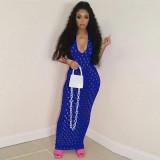 women see through summer maxi dress 4220
