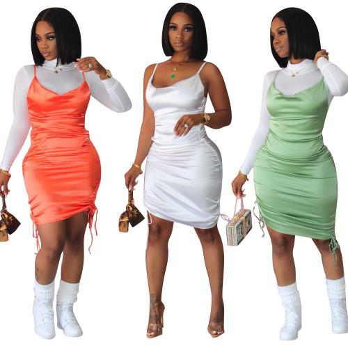 sexy spaghetti strap dress LD9102