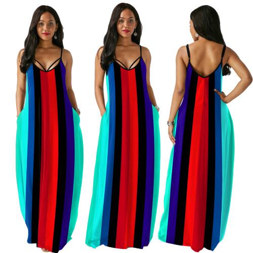 sexy v-neck fashion dress 9991