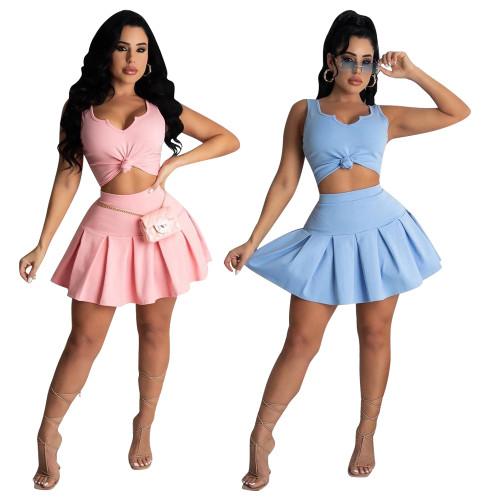 Two piecea skirt set  LD9121
