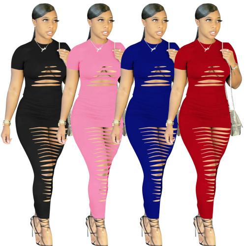 Summer sexy maxi dress 4237