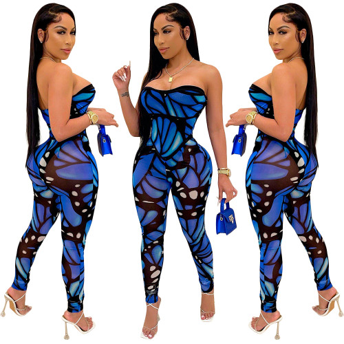 sexy off shoulder women  jumpsuit S390075