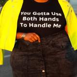plus size women T-shirt 21061