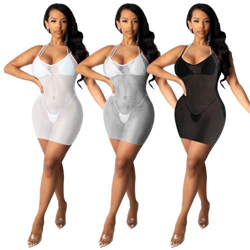 sexy see through mesh dress 10046