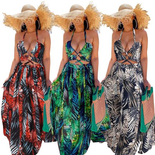 Summer women maxi dress G0271