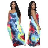 summer sexy maxi dress 4273