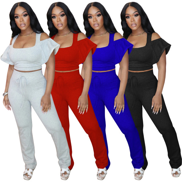 Women 2 pieces pant set 4274