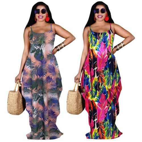 Ladies boho summer dress  LD9151