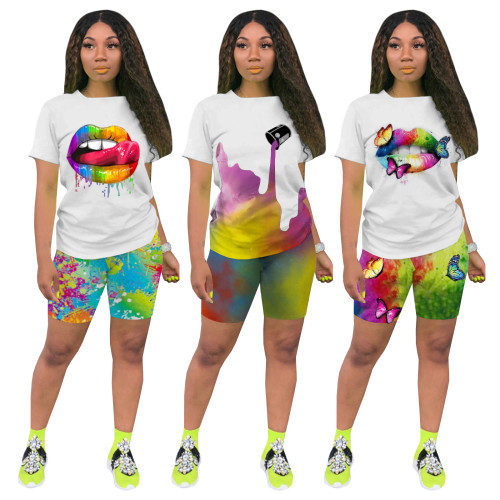 Women 2 pieces sport wear set 4281