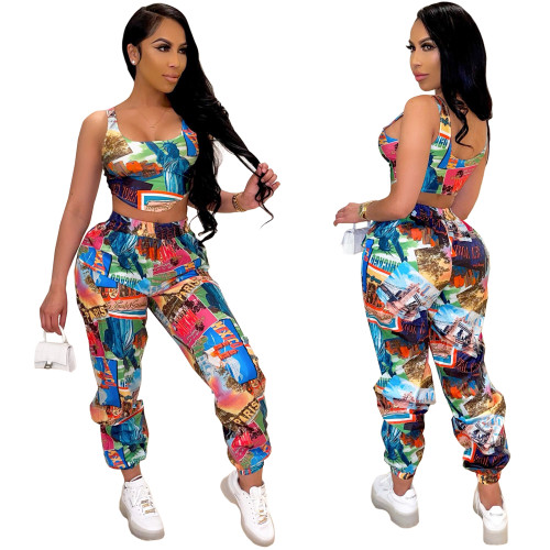Women 2 pieces pants  set 4284