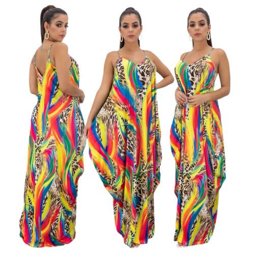 v-neck  maxi dress 10201