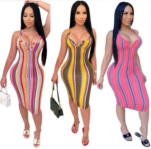 sexy strip women dress N378