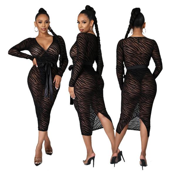 sexy mesh women dress 10308