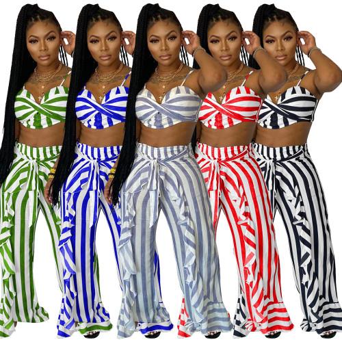 Women two pieces pants set YM201