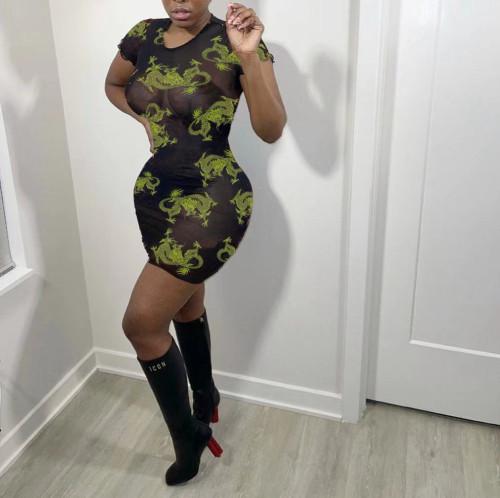 Sexy mini dress LD81014