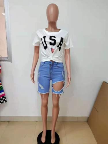 summer women t shirt LD81017