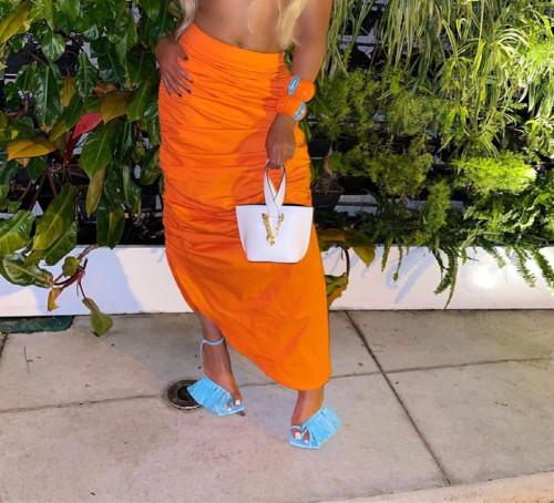 Women long skirt LD81012-