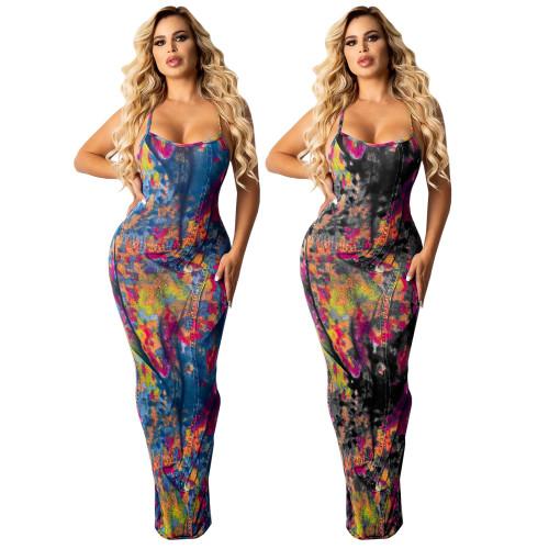 Women maxi dress 4309
