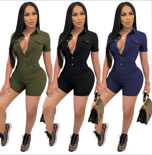 women short romper jumpsuit  S390171