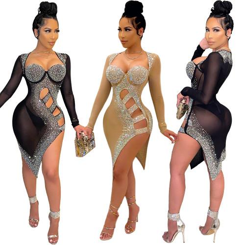 sexy women sequin dress  S390167