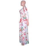 sexy women split long dress  S390179