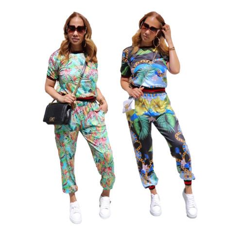 two piece pants set 10377