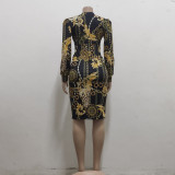 sexy women v-neck dress 10154