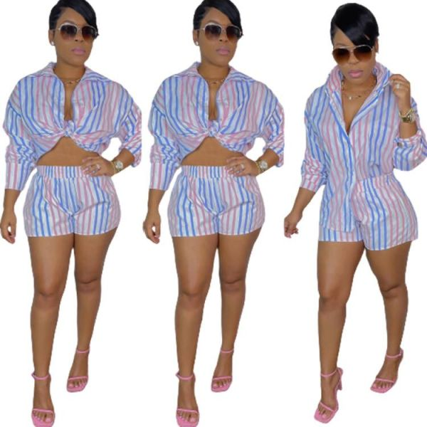 Women fall two pieces outfits LD81028