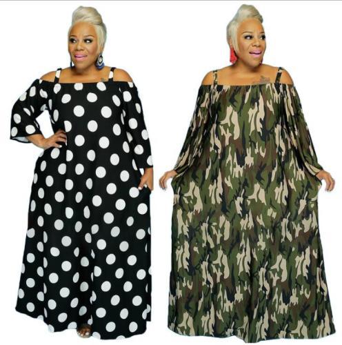 plus size off shoulder dress 21236