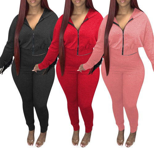 Fall winter 2 pieces sweatsuit 4321