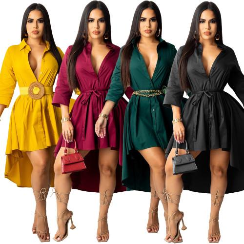 women blouse dress G0420
