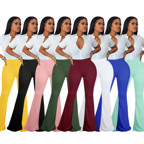 sexy women flared pants  H0011