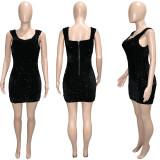 sexy sequin dress  S390213