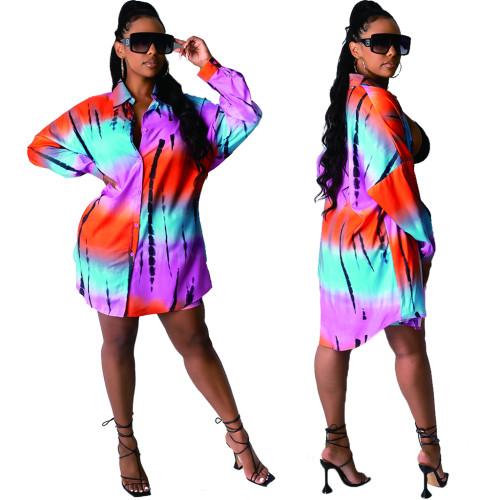 Sexy women blouse dress 10456