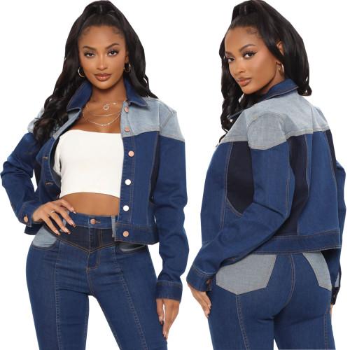 sexy fashion jeans jacket 10658