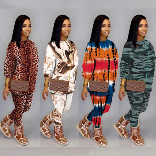 Women two pieces tracksuit M3109