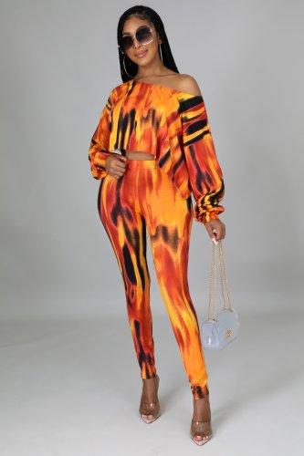 Women 2 pieces pants set M7156