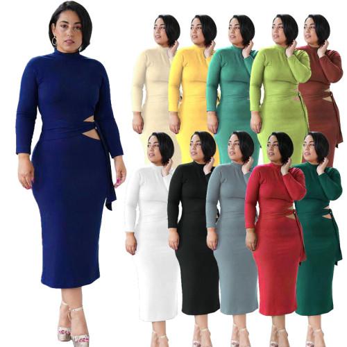 Sexy women long sleeve dress  M3102