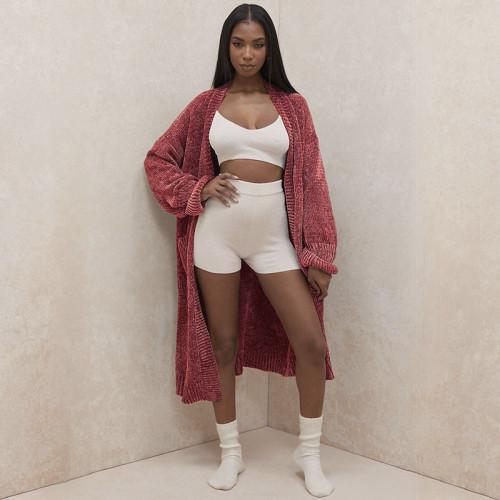 Women winter sweater coat M7167