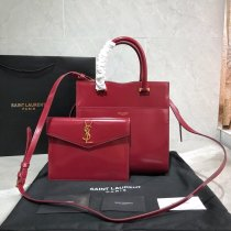 e67cc94926 UPTOWN SMALL TOTE IN SHINY SMOOTH LEATHER