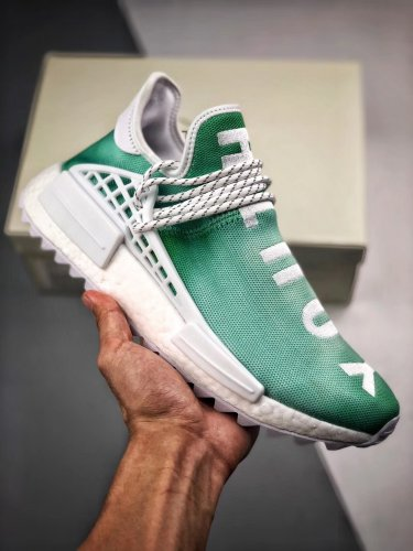 classic fit f9ed4 5817f Adidas Pharrell x NMD Human Race Trail Youth Shoes