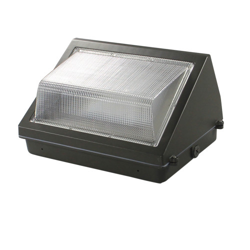80W LED Wall Pack - 9600 Lumens - 100-277VAC - 400W Metal Halide Equivalent - 5000K