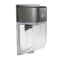 26W Mini LED Wall Pack With Photocell- 3000 Lumens - 100-277VAC - 150W MH/HPS Equivalent - 5000K