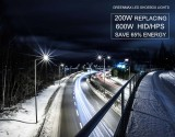 200W LED Parking Lot & Shoebox - 26000 Lumens - 100-277VAC - 800W MH/HID/HPS Equivalent - Type III -5000K