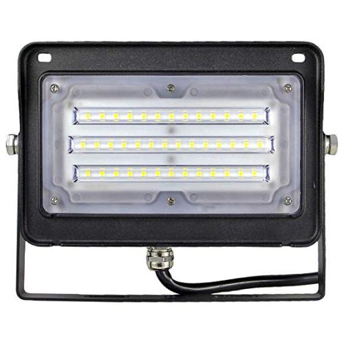 50W LED Flood Light With Photocell - 130lm/w - 6500lm - 100-277VAC - 200W MH/HPS/HID Equivalent - 5000K