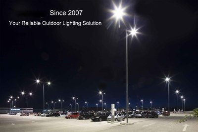 150W LED Parking Lot & Shoebox - 19500Lm - 100-277VAC - 600W MH/HID/HPS - Type III -5000K
