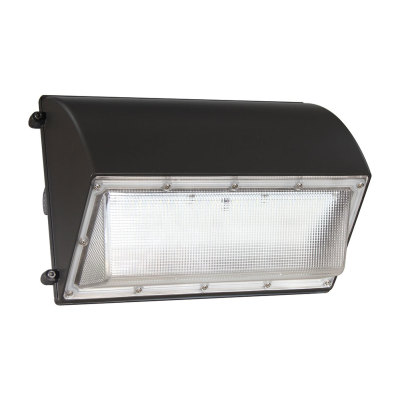 60W LED Wall Pack With Photocell - 7000lm - 120-347VAC - 250W MH/HPS Equivalent - 5000K