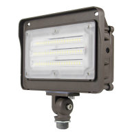 50W LED Flood Light With Photocell - 130lm/w - 6500lm - 5000K - 100-277VAC - 200W MH/HPS/HID Equivalent